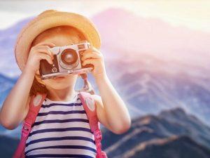 ребенок с фотоаппаратом картинка