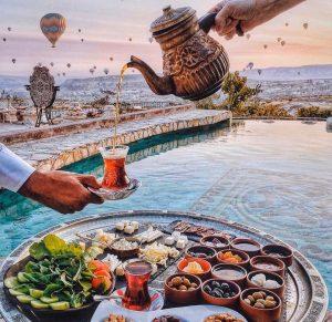 чайные традиции Турции фото