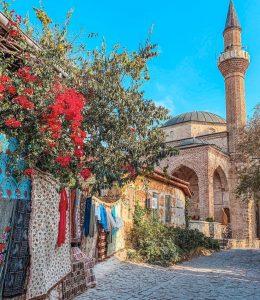 лето в Турции красивые улочки