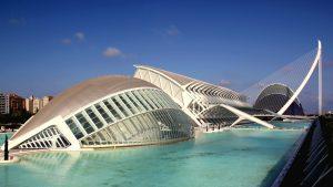 Город искусств и наук в Валенсии фото
