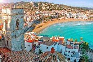 море в Испании красивые виды на дома фото