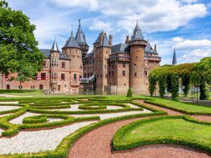 Замок Де Хаар фото летом