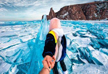 зимний Байкал красивые виды