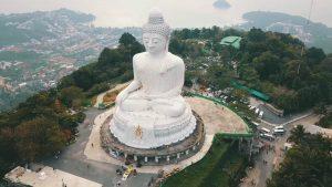Большой Будда на Пхукете фото с высоты