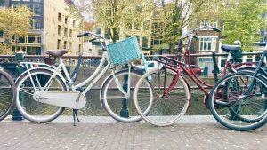 Амстердам катание на велосипедах фото