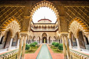 Севильский Алькасар фото дворца
