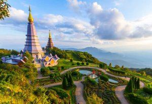 Национальный парк Дой Интханон в Таиланде фото