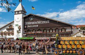 Октоберфест в Германии фото