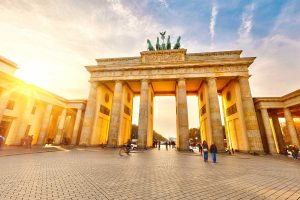 Бранденбургские ворота красивое фото