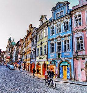 Район Мала Страна в Праге