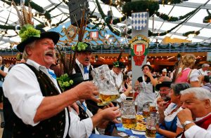 фестиваль пива в Геермании фото