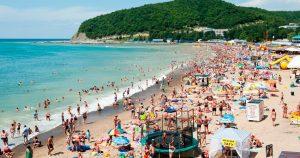 песочные пляжи в Сочи