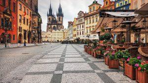 красивые улицы Чехии