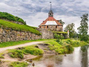 Крепость Корела в Ленинградской области фото