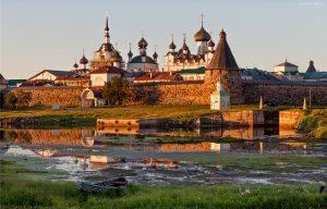 Соловецкий монастырь в Карелии фото