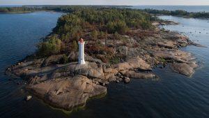 Остров Маячный в Ленинградской области