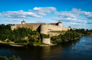 Ивангородская крепость в Ленинградкой области фото