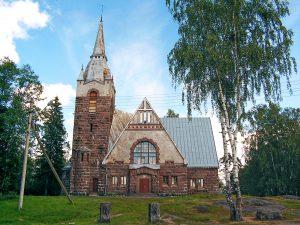 Лютеранская кирха в Мельниково фото