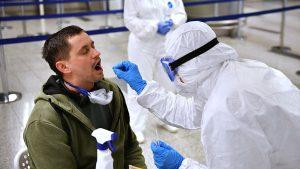 тест на коронавирус в аэропорту