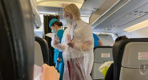 анкета на коронавирус в самолете