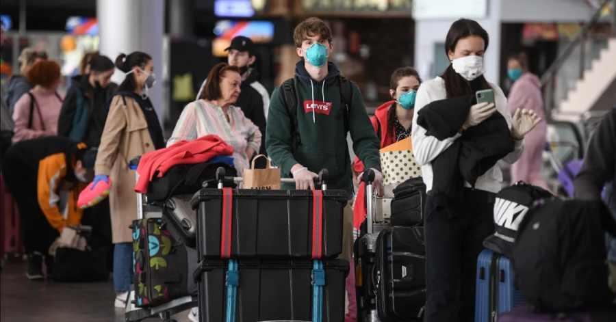 аэропорт в коронавирус