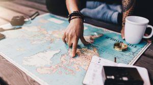 карта мира туристическая страховка