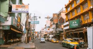 улицы таиланда 2020