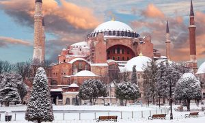 какая погода в Турции зимой