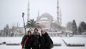 погода в Стамбуле зимой