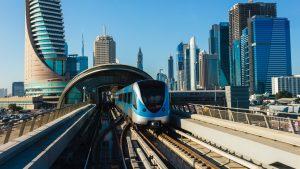 транспорт в Дубае 2020