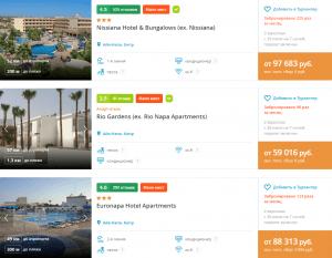 туры на Кипр в июле 2021