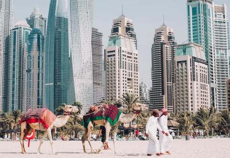 въезд в Абу-Даби
